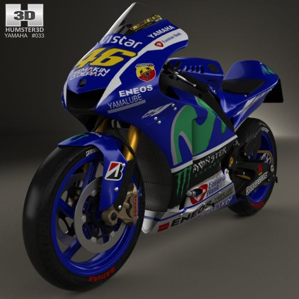 Yamaha YZR-M1 MotoGP 2015 - 3DOcean Item for Sale