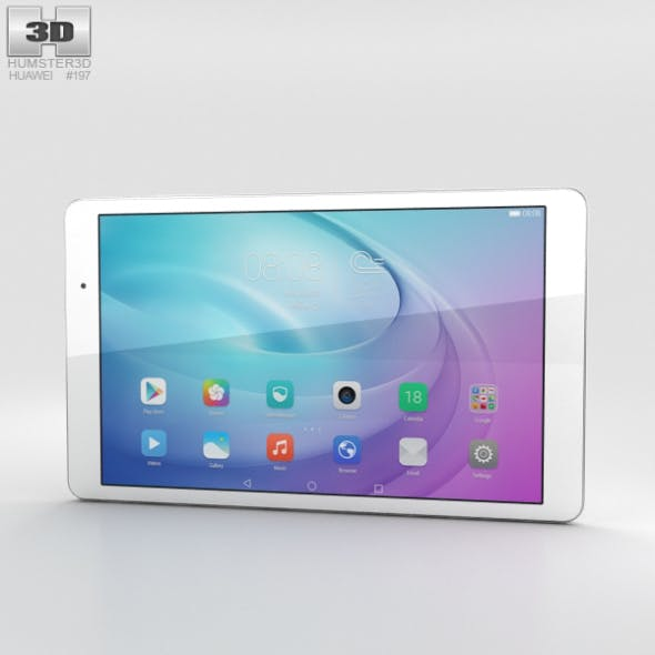 Huawei MediaPad T2 10.0 Pro Pearl White - 3DOcean Item for Sale