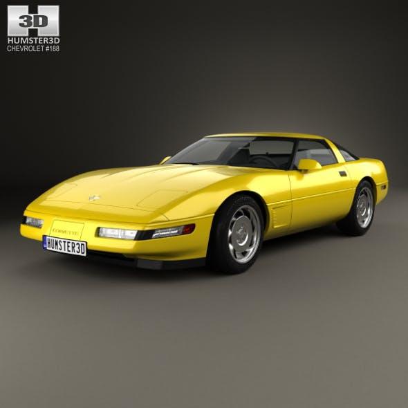 Chevrolet Corvette (C4) 1996 - 3DOcean Item for Sale