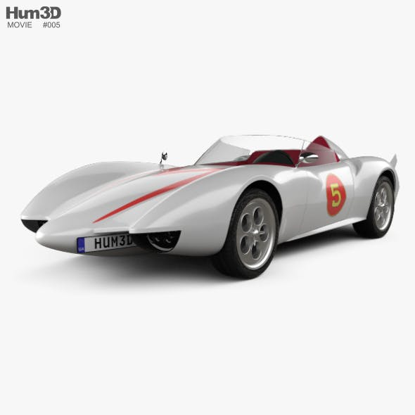Speed Racer Mach 5 1997 - 3DOcean Item for Sale