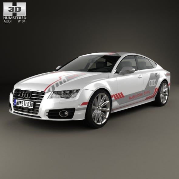 Audi A7 Sportback Piloted Driving Concept 2016 - 3DOcean Item for Sale