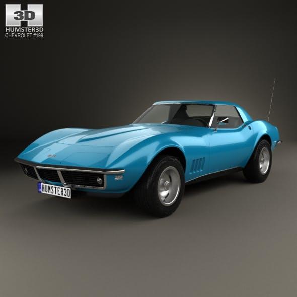 Chevrolet Corvette (С3) Convertible 1968