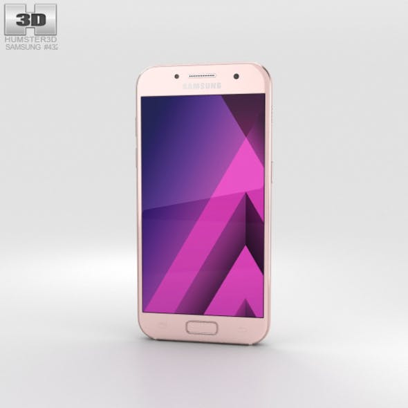 Samsung Galaxy A3 (2017) Peach Cloud - 3DOcean Item for Sale