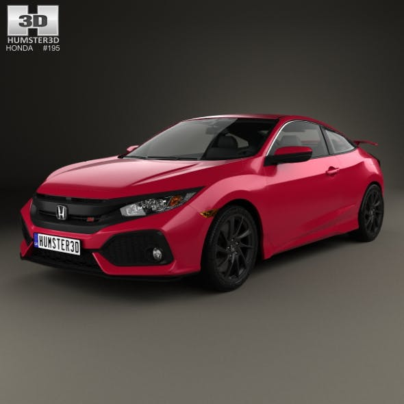 Honda Civic Si coupe 2016 - 3DOcean Item for Sale