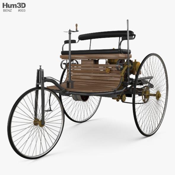 Benz Patent-Motorwagen 1885 - 3DOcean Item for Sale