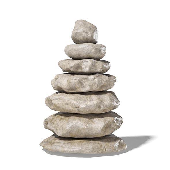 Rock Pile 3D Model - 3DOcean Item for Sale