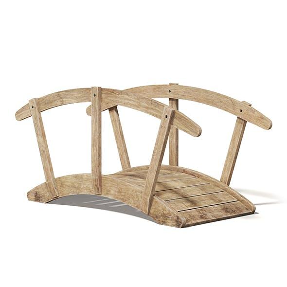 Small Wooden Bridge 3D Model - 3DOcean Item for Sale