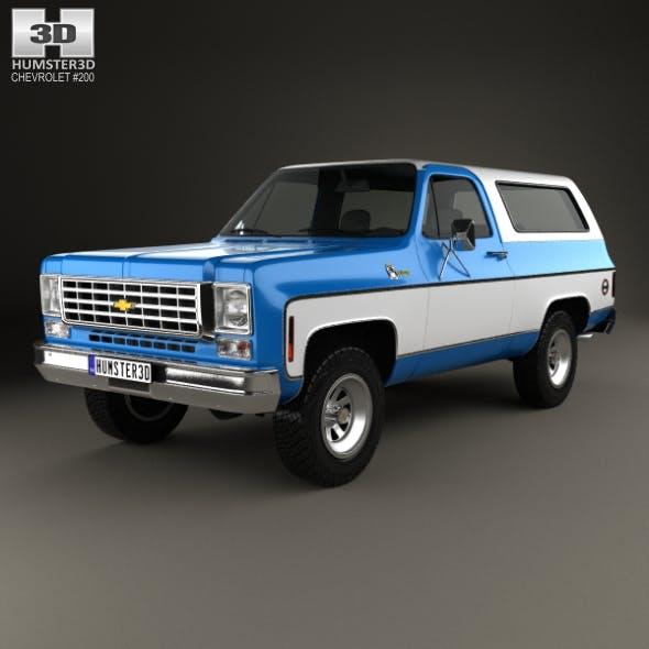 Chevrolet K5 Blazer 1976 - 3DOcean Item for Sale