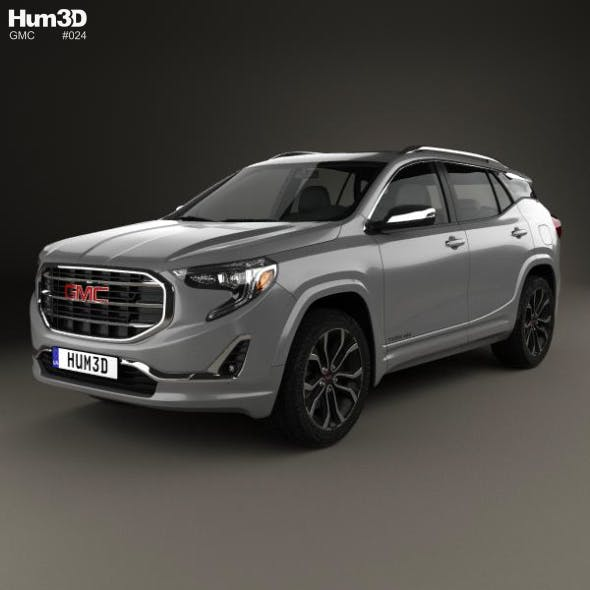 GMC Terrain SLT 2017 - 3DOcean Item for Sale