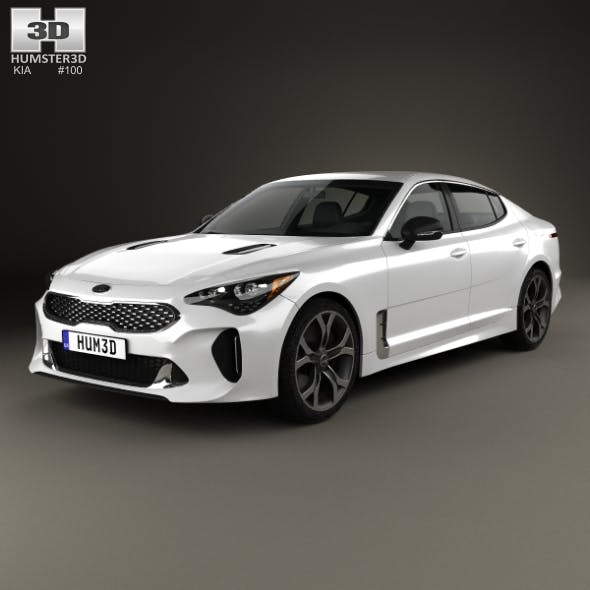 Kia Stinger GT 2017 - 3DOcean Item for Sale