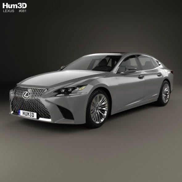Lexus LS 2017 - 3DOcean Item for Sale