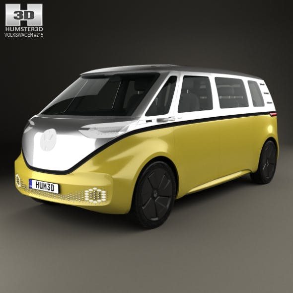 Volkswagen ID Buzz 2017 - 3DOcean Item for Sale