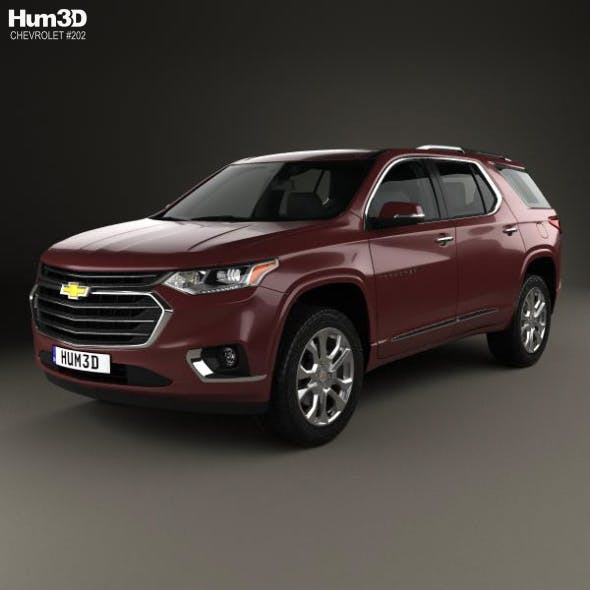 Chevrolet Traverse 2017 - 3DOcean Item for Sale