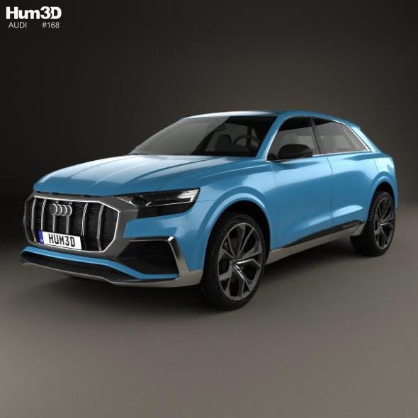 Audi Q8 concept 2017 - 3DOcean Item for Sale