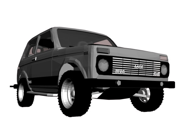 Lada Niva 21213 - 3DOcean Item for Sale
