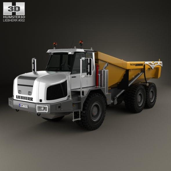 Liebherr TA 230 Litronic Dump Truck 2010 - 3DOcean Item for Sale