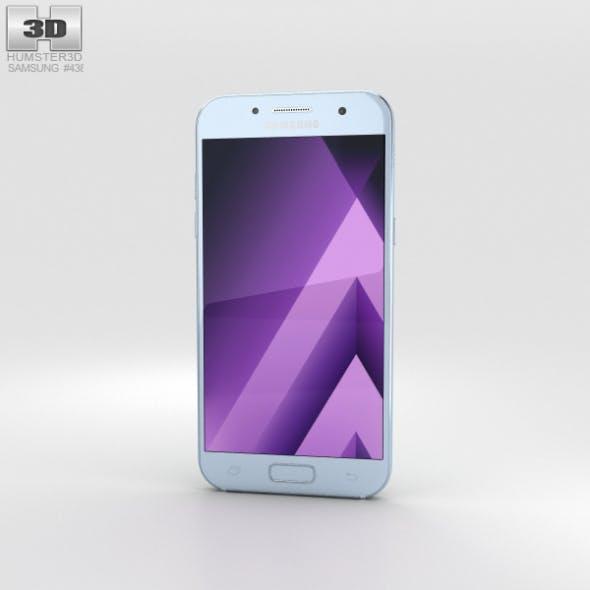 Samsung Galaxy A7 (2017) Blue Mist - 3DOcean Item for Sale