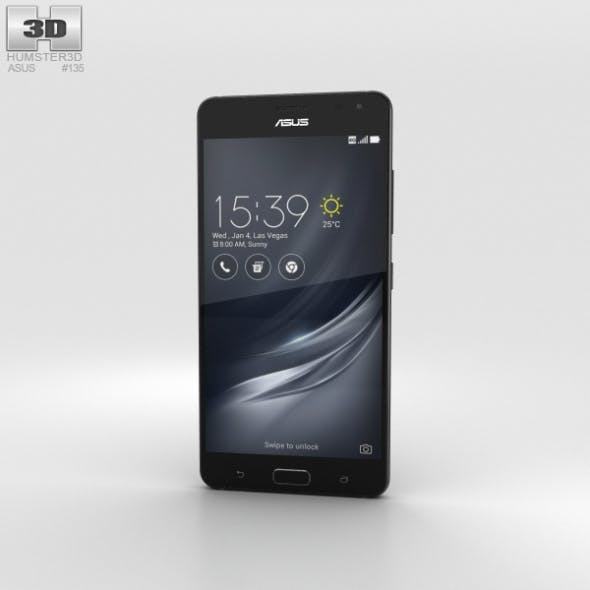 Asus ZenFone AR Black - 3DOcean Item for Sale