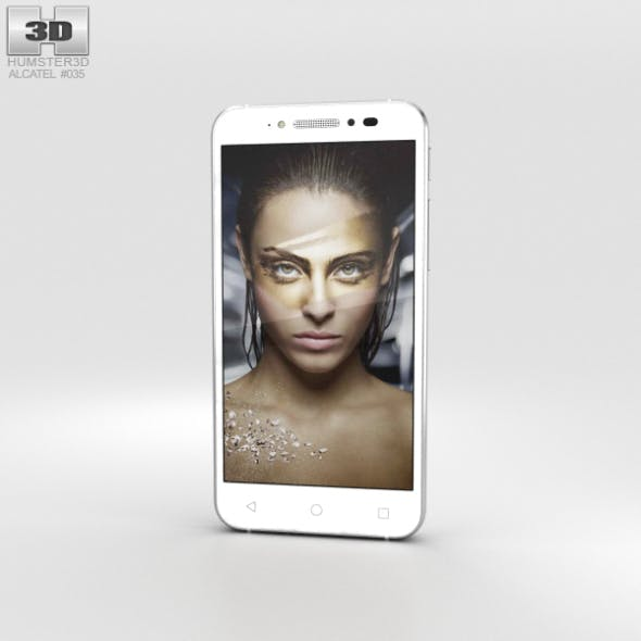 Alcatel Shine Lite Pure White
