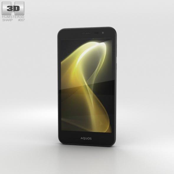 Sharp Aquos U SHV35 Black - 3DOcean Item for Sale