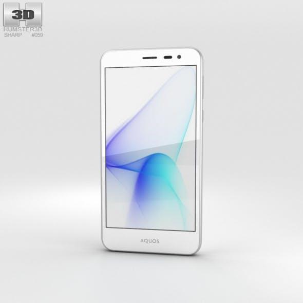 Sharp Aquos U SHV35 White - 3DOcean Item for Sale
