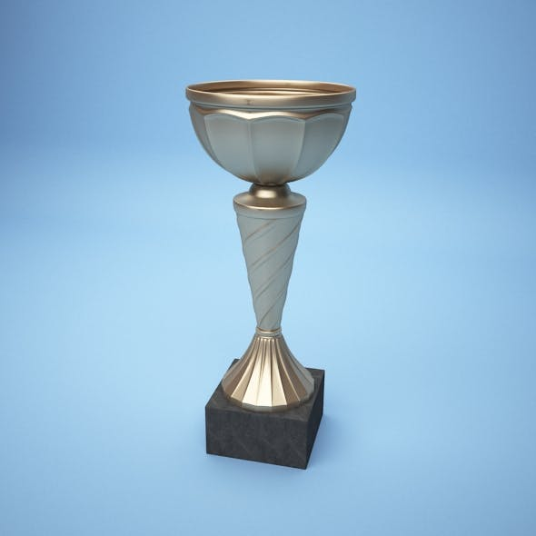 Gold Cup - 3DOcean Item for Sale