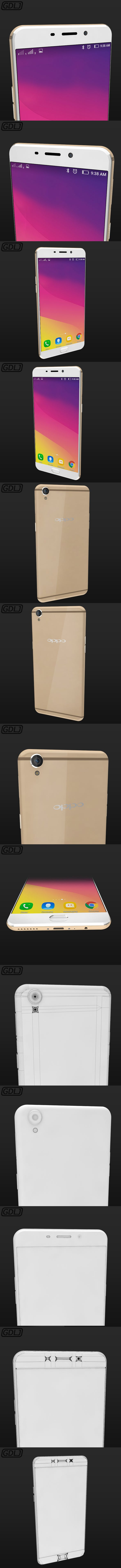 "Oppo R9 Plus ""Very realistic"" - 3DOcean Item for Sale"