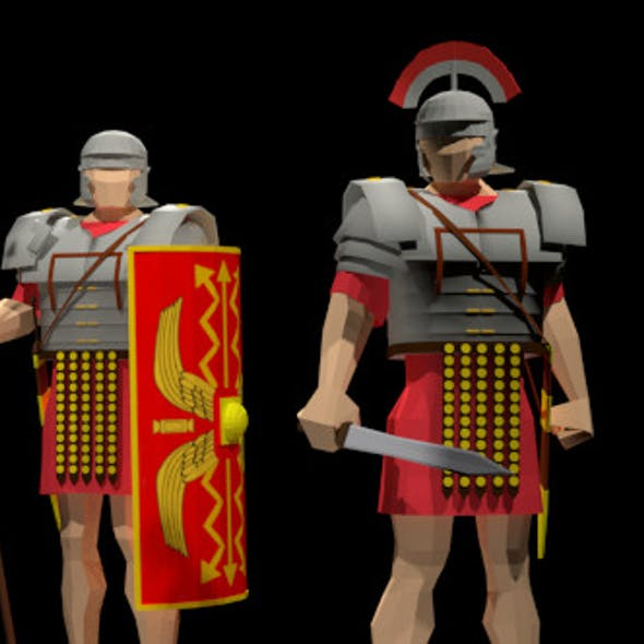 Roman Legion and Centurion