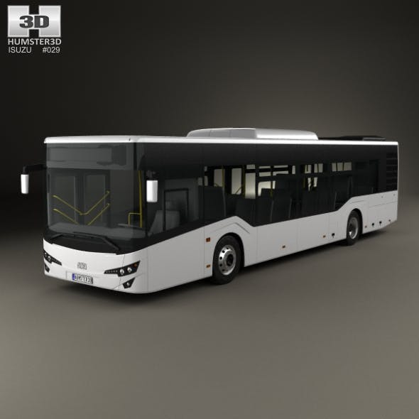 Isuzu Citiport Bus 2015