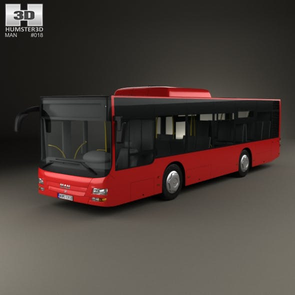 MAN Lion's City M Bus 2006 - 3DOcean Item for Sale