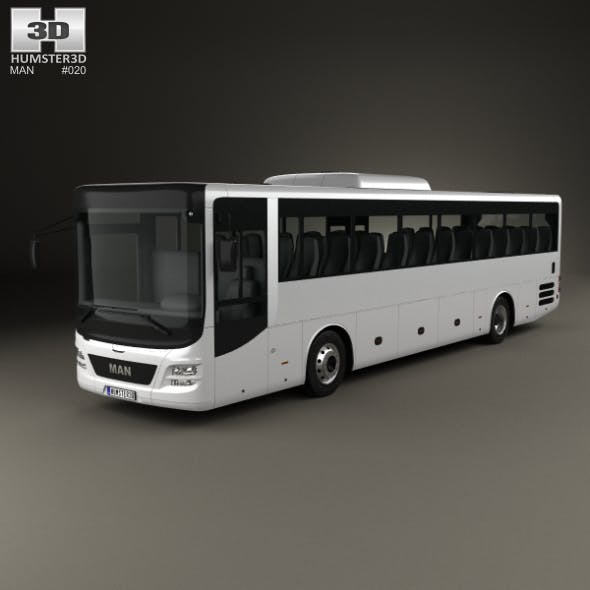 MAN Lion's Intercity Bus 2015 - 3DOcean Item for Sale