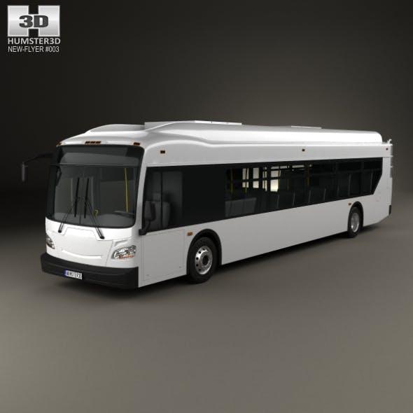 New Flyer Xcelsior Bus 2016 - 3DOcean Item for Sale