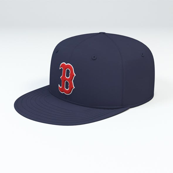 Boston Red Sox Baseball Caps - 3DOcean Item for Sale