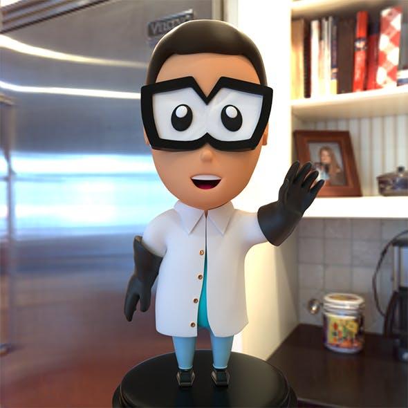 Lab Kid - 3DOcean Item for Sale