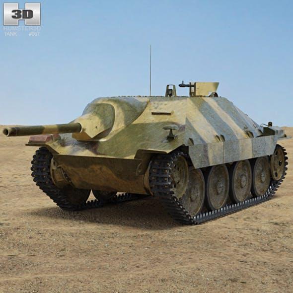 Jagdpanzer 38 Hetzer - 3DOcean Item for Sale