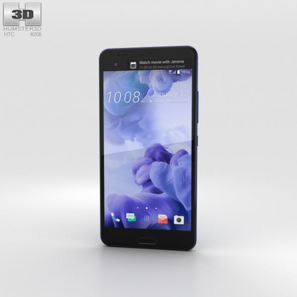 HTC U Ultra Sapphire Blue - 3DOcean Item for Sale