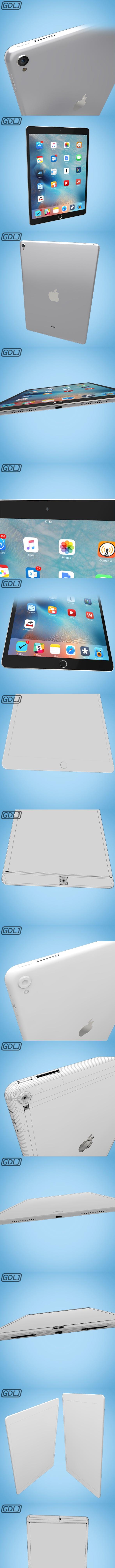 iPad Pro - 3DOcean Item for Sale