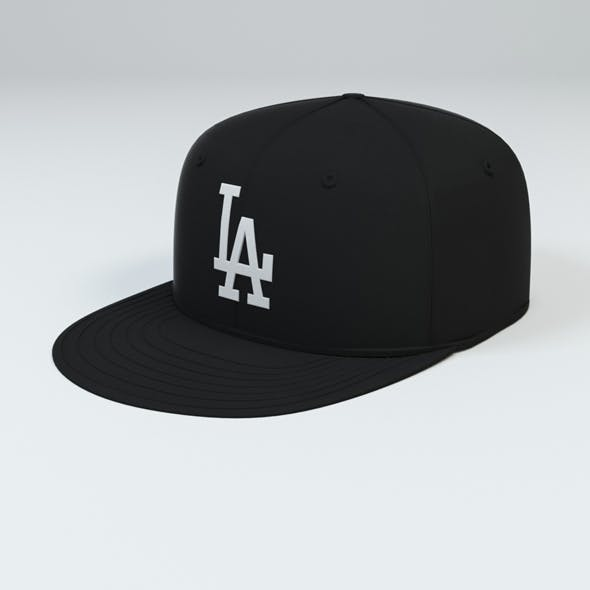 LA Dodgers Baseball Caps - 3DOcean Item for Sale
