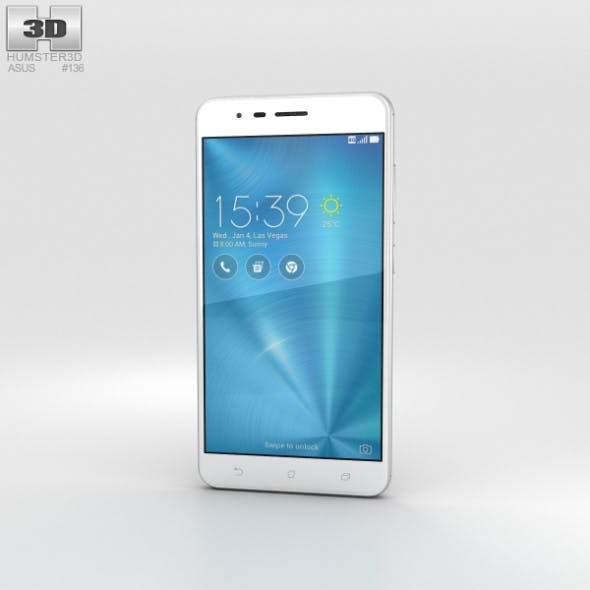 Asus Zenfone 3 Zoom Glacier Silver