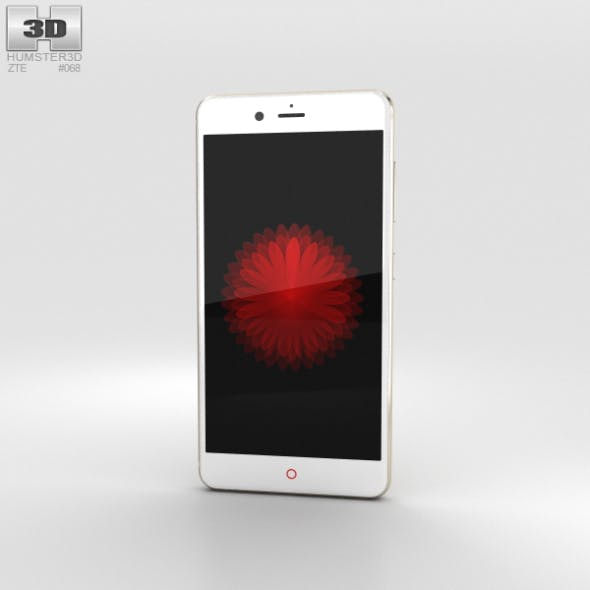 ZTE Nubia Z11 mini S Gold - 3DOcean Item for Sale