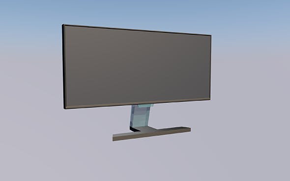 Monitor Samsung (no logo) - 3DOcean Item for Sale