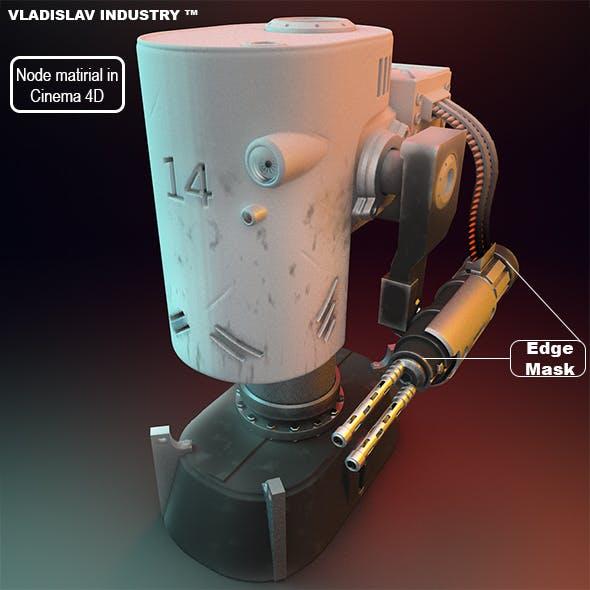 Weapon   Turret   Robot   Cartridges   Machine   Mechanism   War   Military   Game