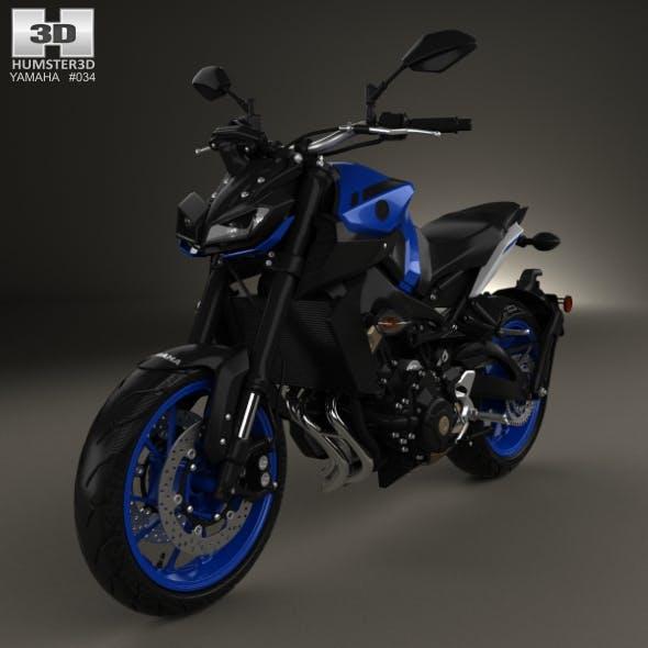 Yamaha MT-09 2017 - 3DOcean Item for Sale
