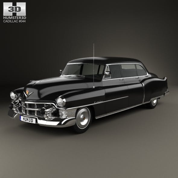 Cadillac 75 sedan 1953 - 3DOcean Item for Sale