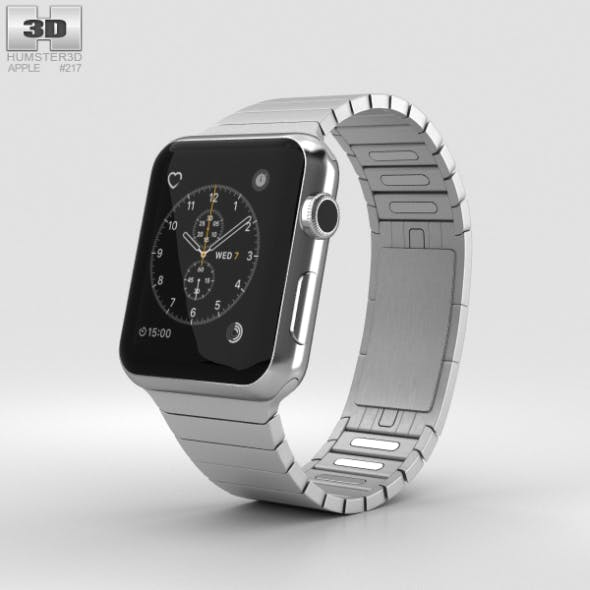 Apple Watch Series 2 42mm Stainless Steel Case Link Bracelet