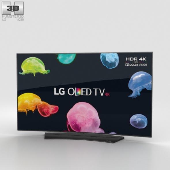 LG 55 OLED TV C6 OLED55C6V - 3DOcean Item for Sale