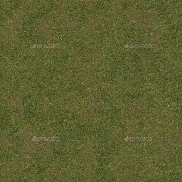 Ground with grass and soil - 3DOcean Item for Sale