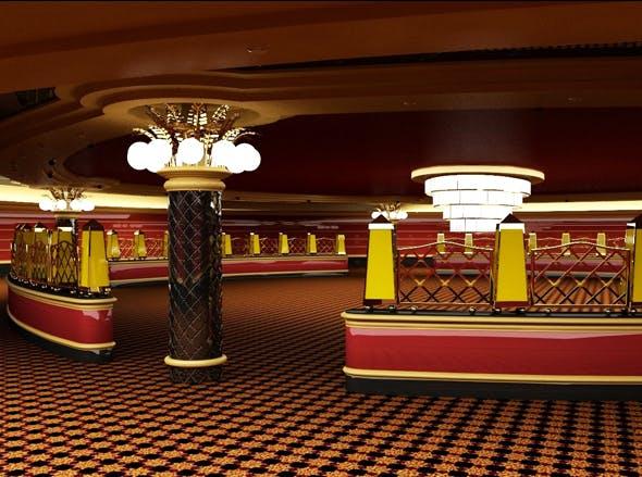 Casino Interior - 3DOcean Item for Sale