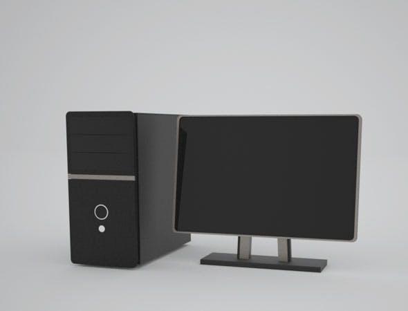 Computer PC Desktop - 3DOcean Item for Sale