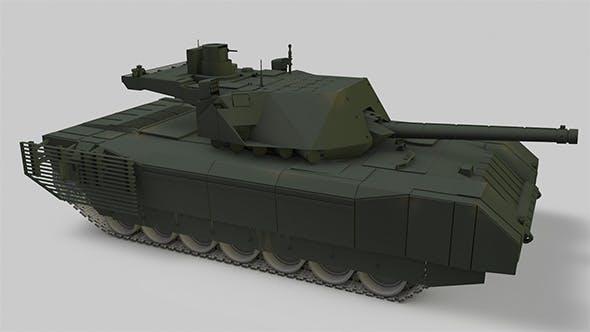 Tank Armata - 3DOcean Item for Sale